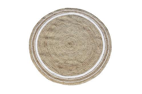 White Hampton Style Rug