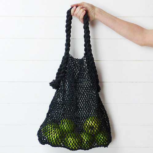 Fairtrade Market Bag (Charcoal) by Collective Sol