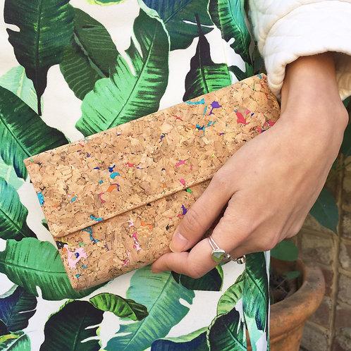 Vivid Recycled Long Wallet