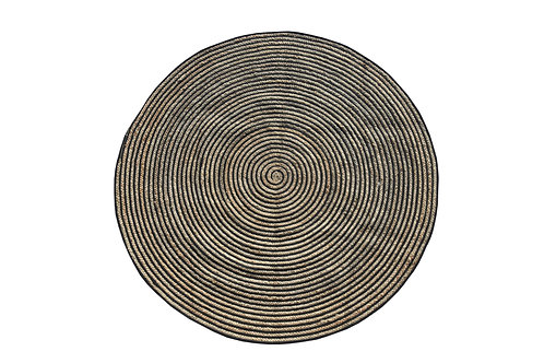 Spiral Jute Rug