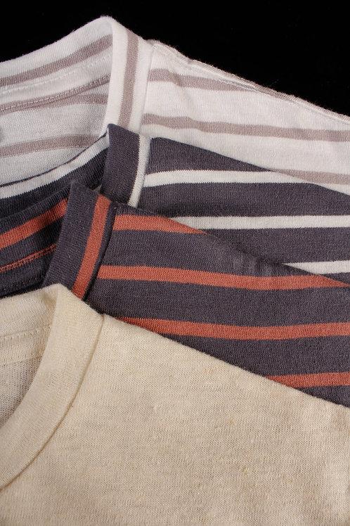 Crew Neck Hemp T-shirts (4 Unisex styles)
