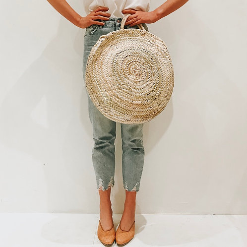 Moroccan Round Bag by Collective Sol