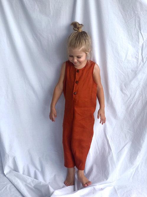 Terracotta Jumpsuit (Unisex)