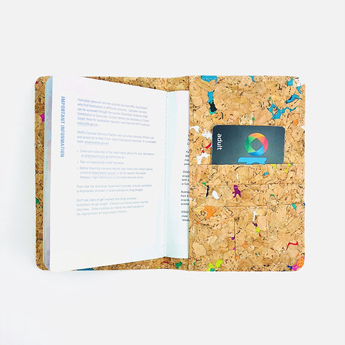 Vivid Recycled Passport Holder
