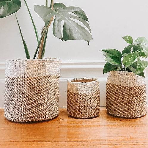 Fairtrade Planter Basket by Collective Sol