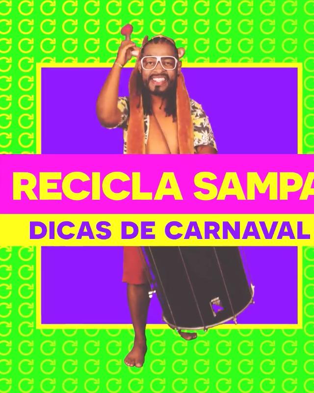 DICAS DE CARNAVAL: REPENSE