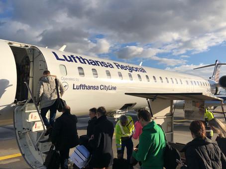 Lufthansa flight LH-1650 loses Cabin Pressure near Budapest
