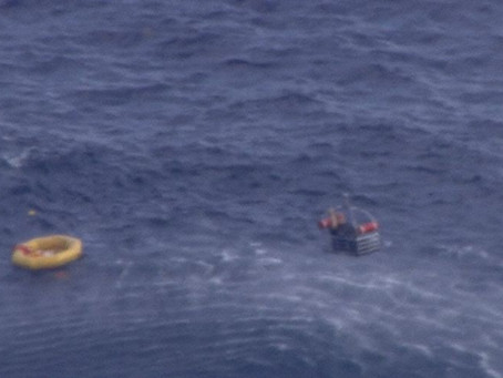 Water Rescue saves One of Two Pilots