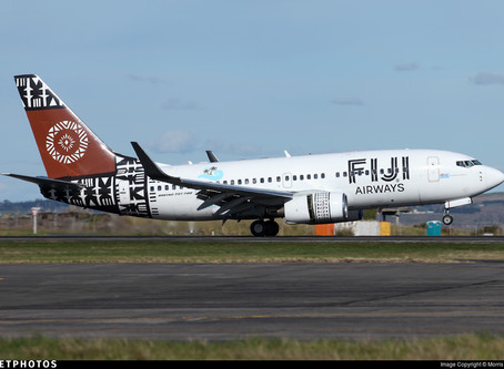 Fiji Airways, B737 Loses Cabin Over Pacific