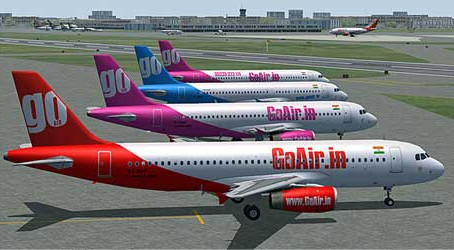 GoAir Airbus A-320 Diverts to Nagpur due to Pressurization Issues
