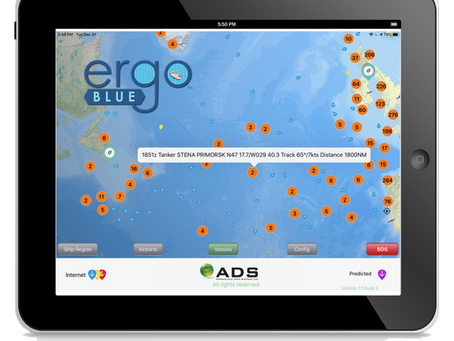 New Low Cost ERGO BLUE Ship Display App Aids Search/Rescue Efforts