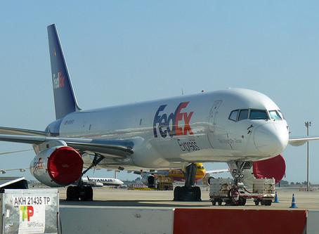 Fedex Boeing 757-200 Diverts to Amsterdam