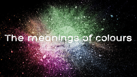 The meanings of colours
