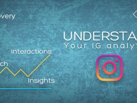 Understand your IG Analytics