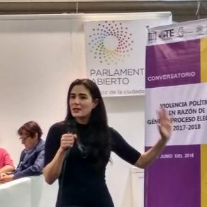 """Conversatorio """"Violencia Política en razón de género: proceso electoral 2017-2018"""""""