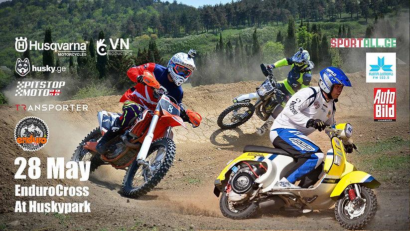 Enduro cross, ATV, UTV, Scooters,supermotos competition event at husky motopark