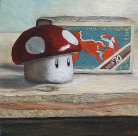 Mushroom and Matchbox