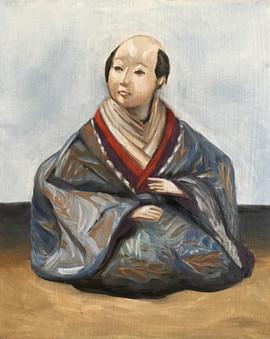 Hinamatsuri Shakuhachi Doll