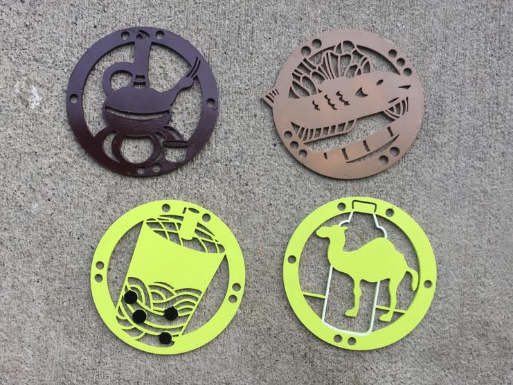 Additional Designs: Jebena, Ca Nuong, Boba Tea, Camel Milk