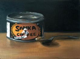Sanka Coffee Tin