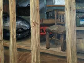 Minidoka Child's Chair and Woks
