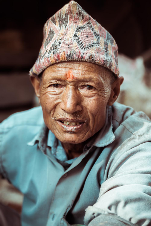 Nepal Man Shot By Brigford - Brigitte Stanford