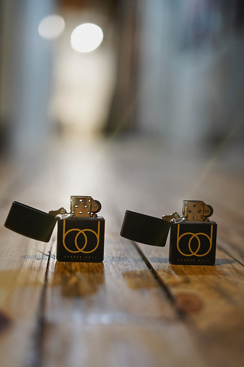 Matte Black Refillable Zippo Lighters