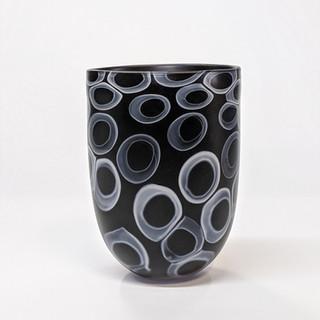 Black Matte Vase