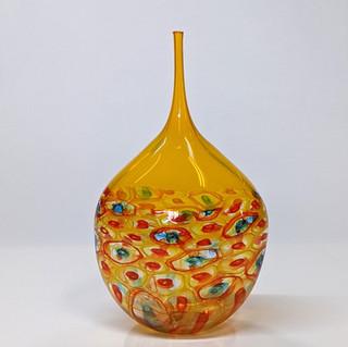 Saffron Teardrop Bottle