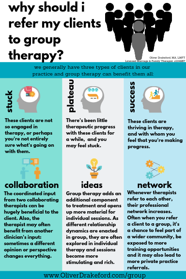 Why Refer Clients To Group Therapy