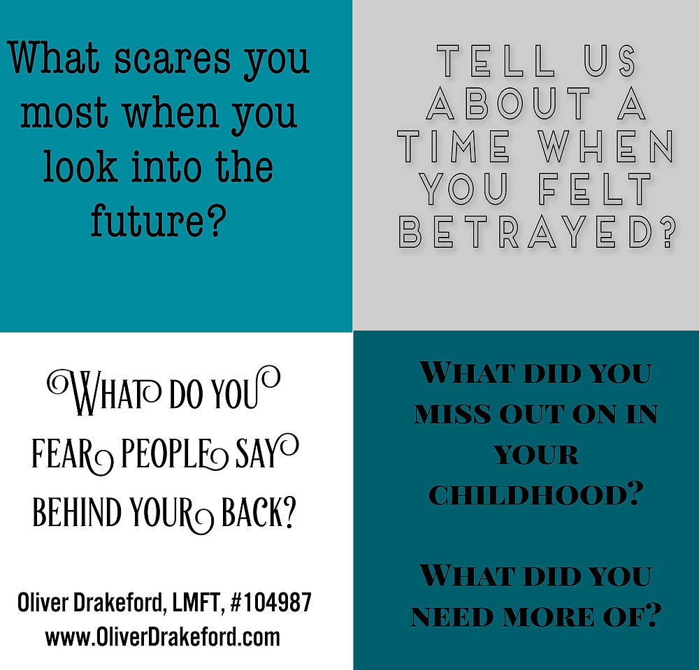 family therapy questions - oliver drakeford, family therapist