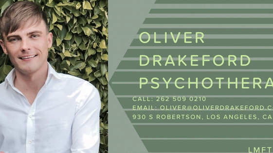 Oliver Drakeford Therapy