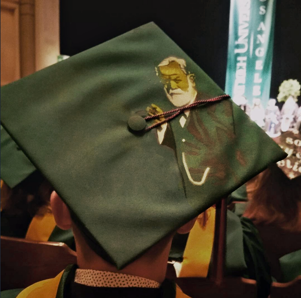 graduation decoration psychology freud