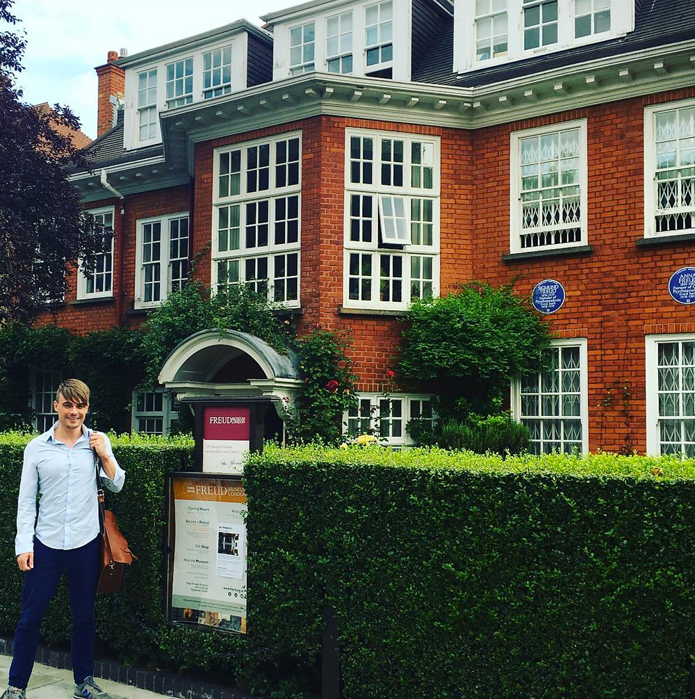 Oliver at Freud's House Psychoanalysis Therapist