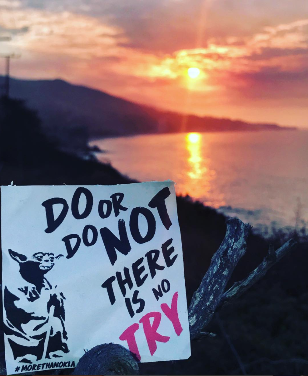 do or do not there is no try therapist los angeles oliver drakeford