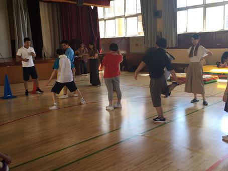 筑波大学附属大塚特別支援学校 運動療育プログラム5回目