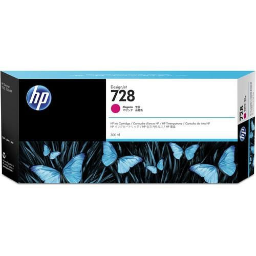 HP 728 300-ml Magenta Black Ink Cartridge For T730/T830 (NEW)