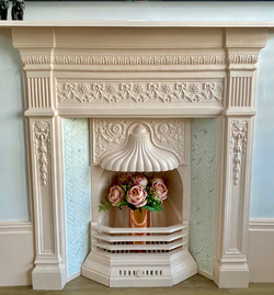 Refurbished original fireplace