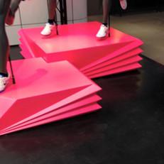 Nike Town London plinths