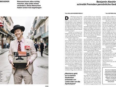 Feature article in NEON Magazin