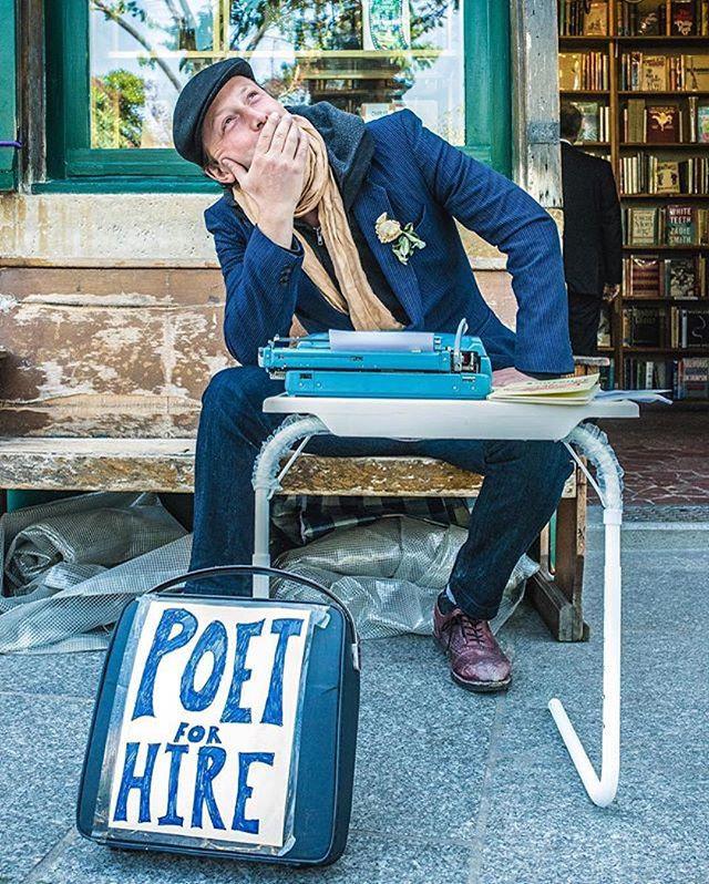 Poet for Hire Benjamin Aleshire