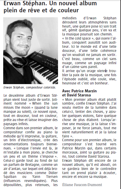 Article du Telegramme