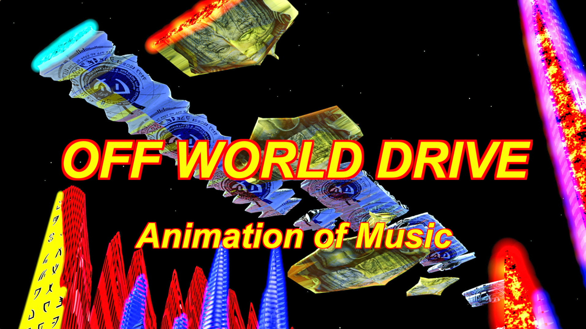 Off World Drive - Animation of Music