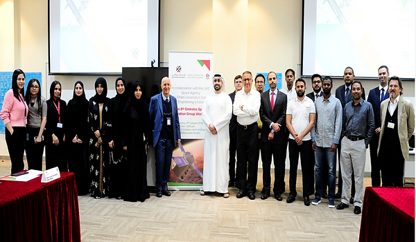 EITGHTH ESIG WORKSHOP PHOTO - UAE SPACE