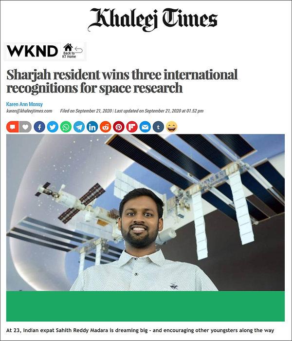 Sahith Reddy Madara - Khaleej Times.jpg