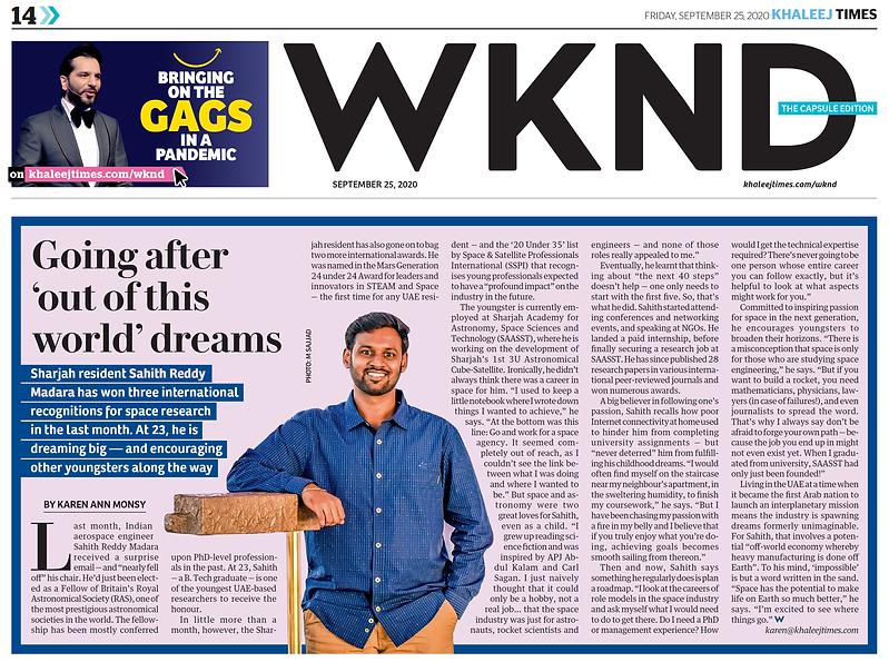 Sahith Reddy Madara - Khaleej Times.png