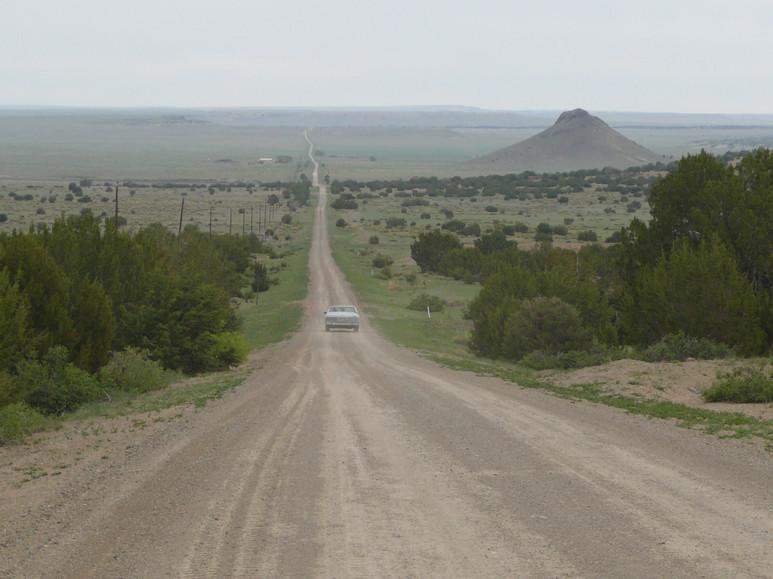 Road to Trinchera