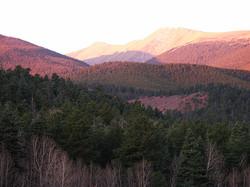 Sunrise on the Peaks