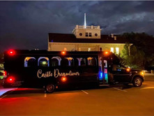 Castle Dreamliner Party Bus for Wedding