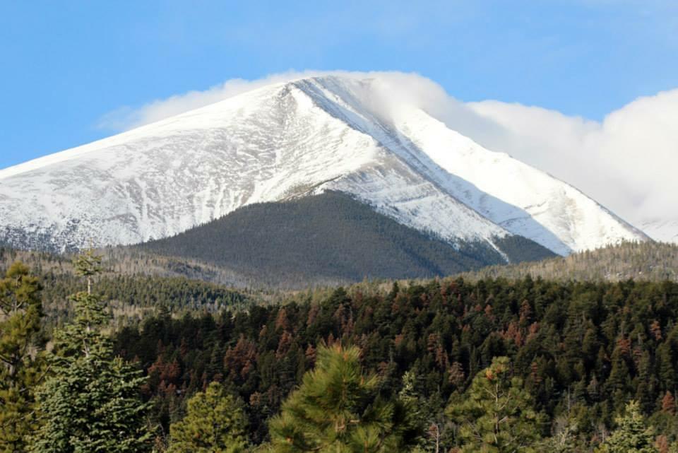 Clouds Over Gibbs Peak